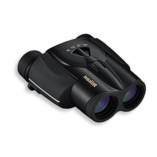 Nikon Aculon 8-24x25mm Zoom Binoculars, Black