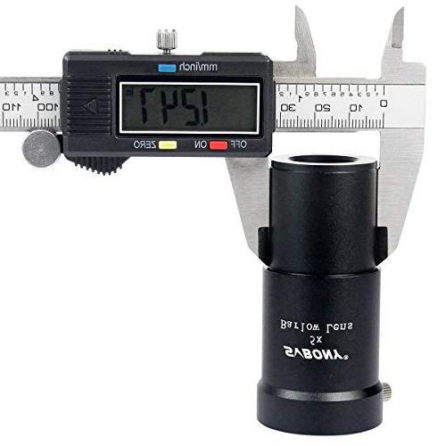"SVBONY Lens 1.25"" Coated APO 5 Times for Telescope Eyepiece"