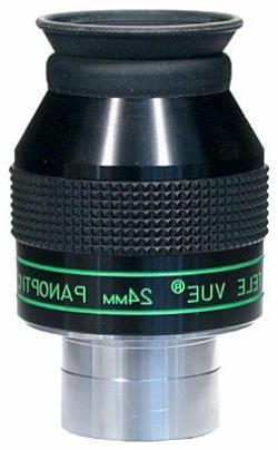"Tele Vue 24mm Panoptic 1.25"" Wide Angle Eyepiece with 68 Deg"