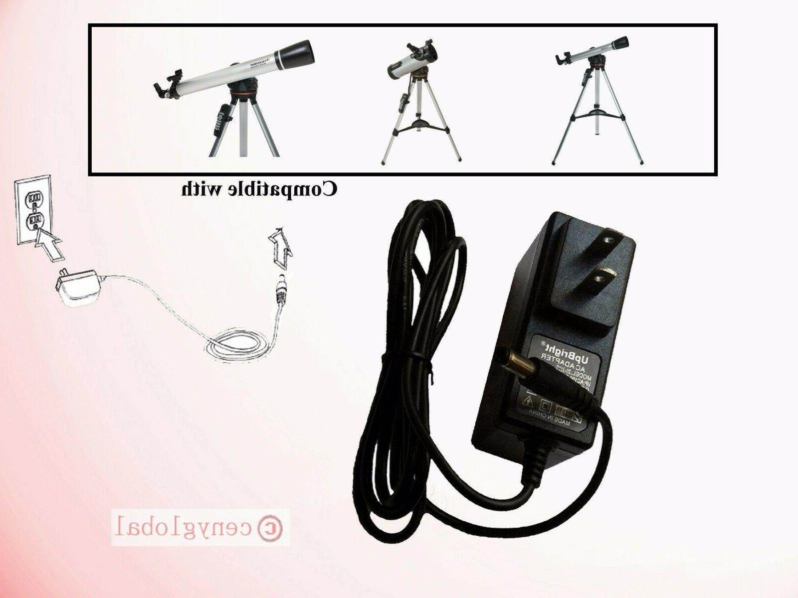 ac adapter charger for celestron lcm series