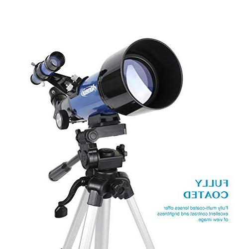 Aomekie Adults Kids Astronomy Beginners Tripod Adapter Barlow and Backpack