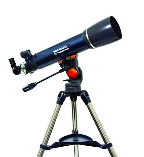 astro master 102az refractor telescope
