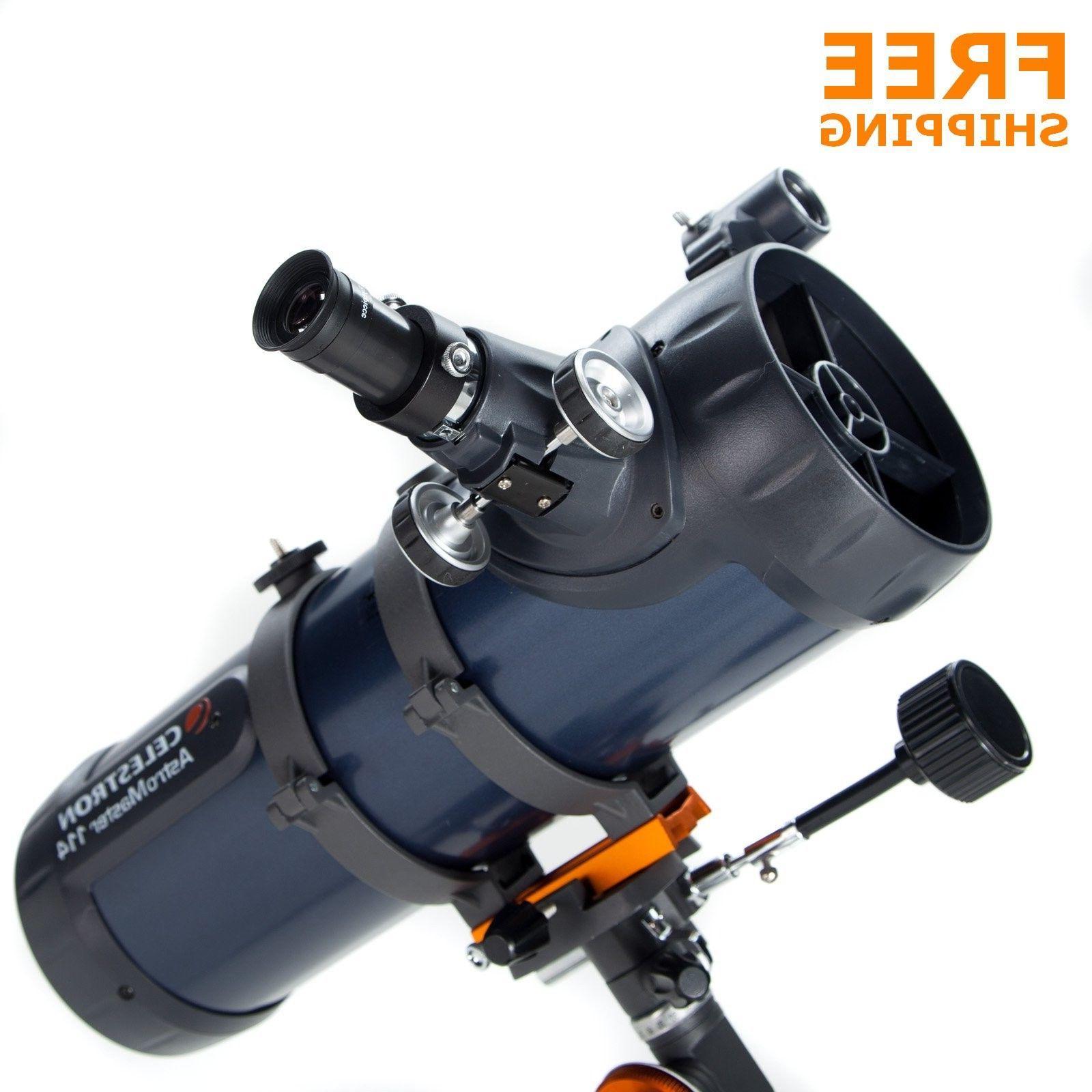 astromaster 114eq reflector telescope planetarium software t
