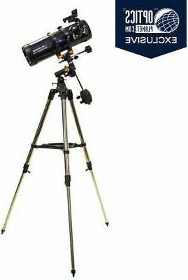 astromaster 114eq telescope w motor drive 31042