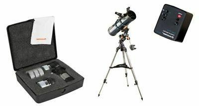 astromaster 130 eq reflector telescope 31045 w