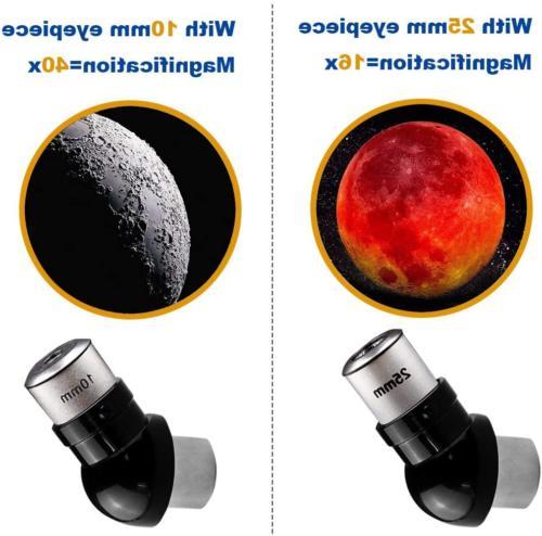 Astronomical Telescopes Travel Scope 70mm 400mm AZ