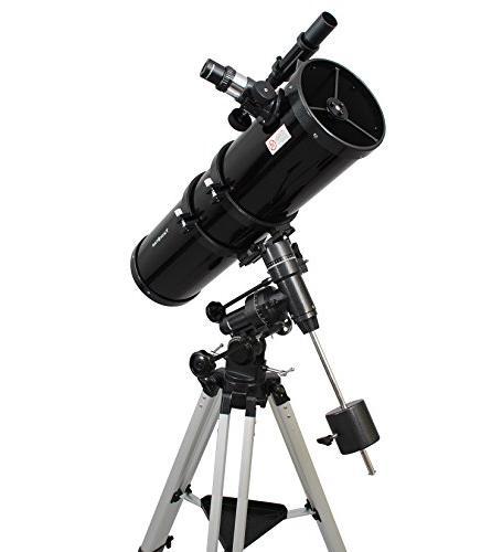 "AstroVenture 6"" Newtonian Telescope With Camera"