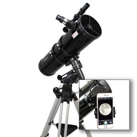 astroventure newtonian reflector telescope