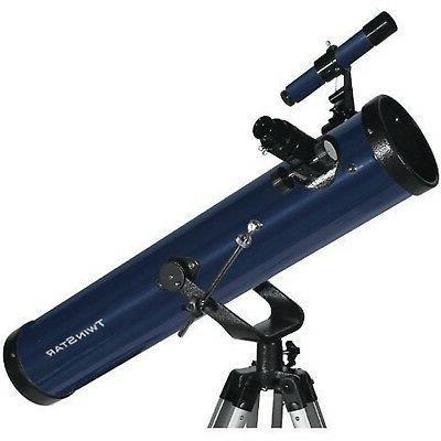blue twinstar firststar reflector telescope