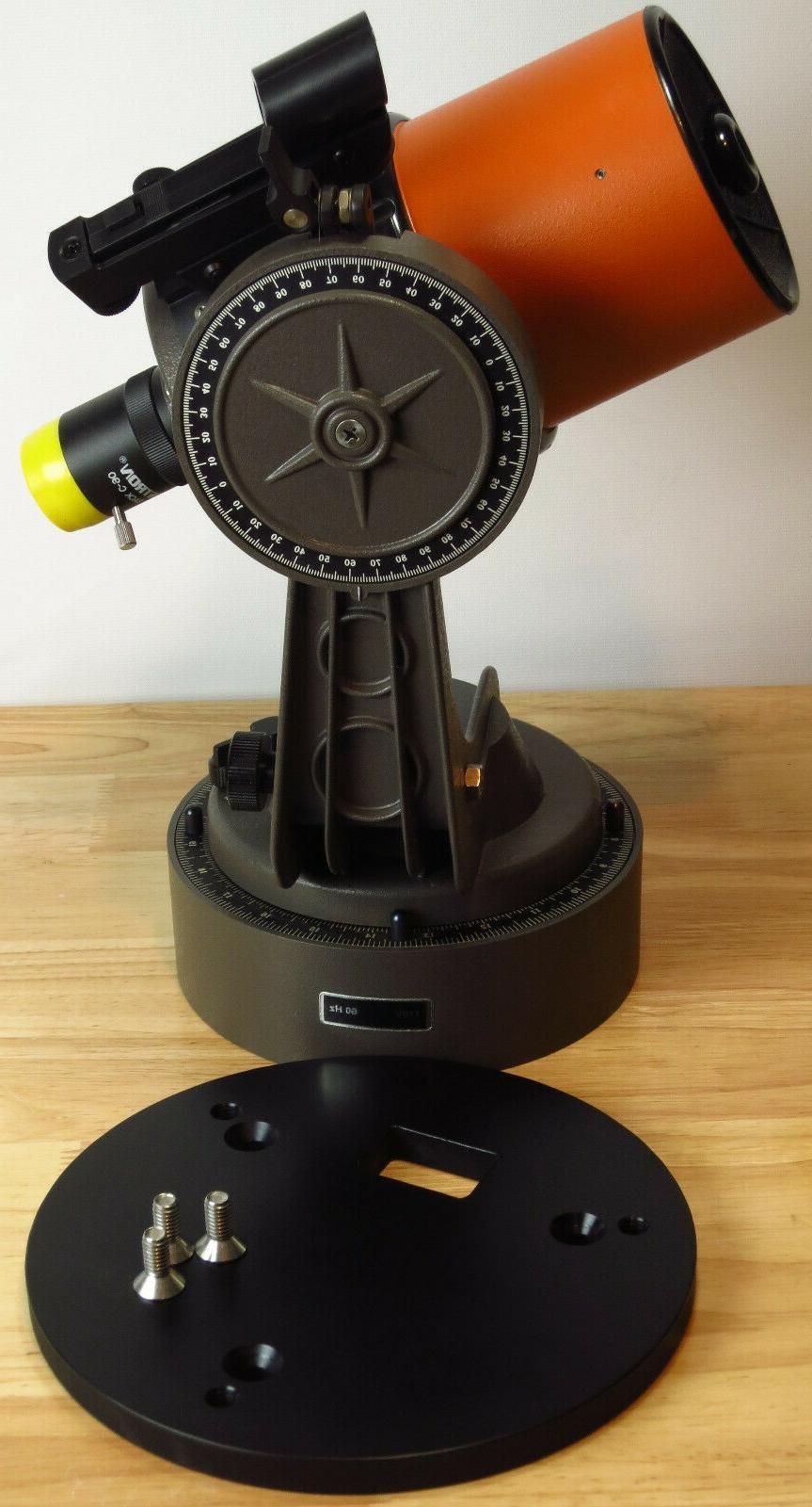 celestron c90 astro telescope wedge adapter plate