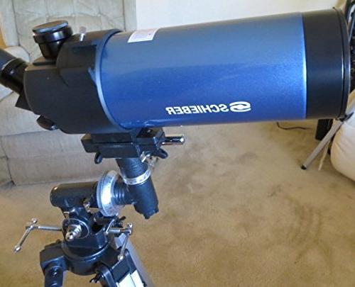 Schieber Telescopes Compact MAK 90-90mm Maksutov-Cassegrain Bundle