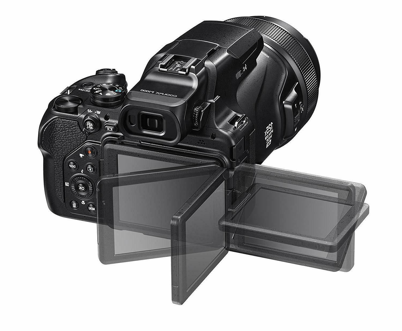 Nikon COOLPIX P1000 16.7 Digital LCD,