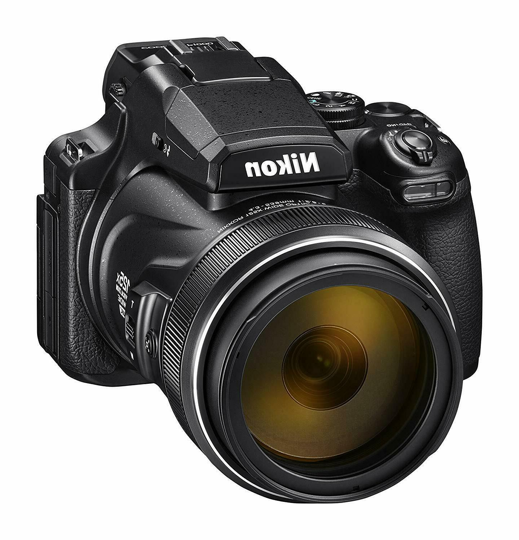 Nikon P1000 16.7 Digital LCD, Black