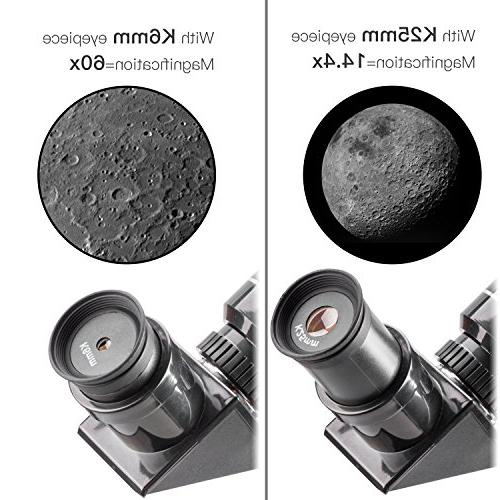 Emarth 70mm Astronomical Telescope with Tripod Scope, for Kids Beginners