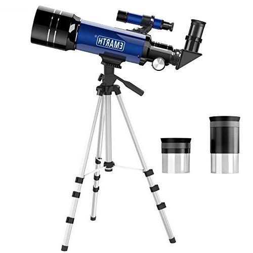 emarth telescope travel scope 70mm astronomical refracter tr