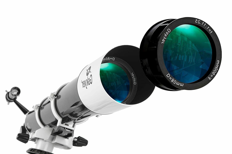 Gskyer EQ German Technology Telescope,Starwatcher Refractors