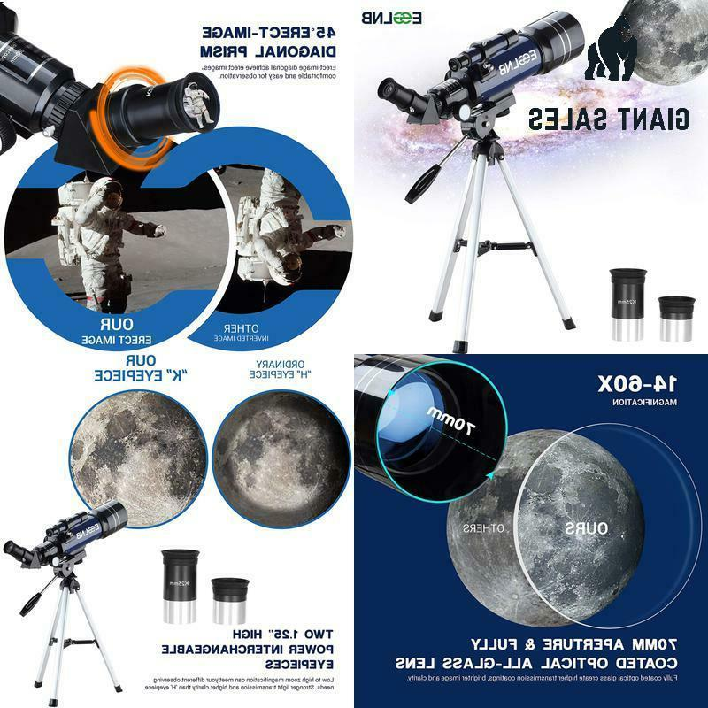 esslnb telescope for kids with tripod 70mm
