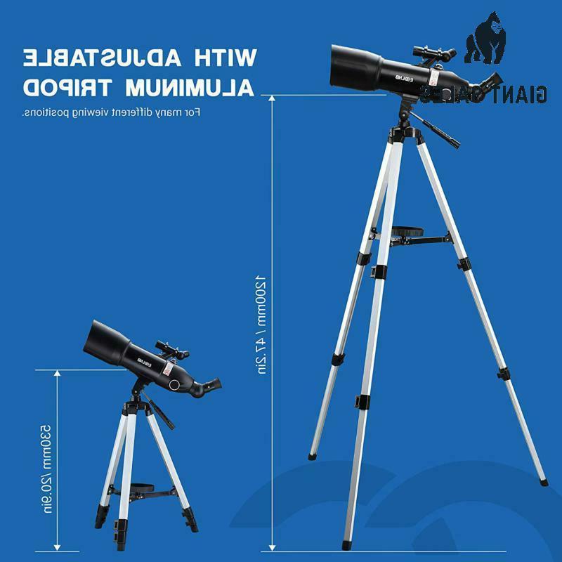 Esslnb Telescopes For Kids Beginners 80Mm Astronomical Telescopes Wi