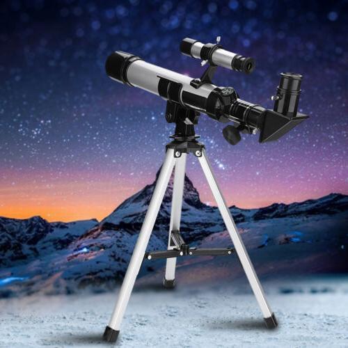 f40400 150x astronomical refractor telescope portable