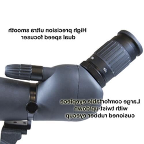 Helios 20-60x85ED Triplet Dual Speed Spotting