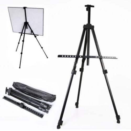 folding artist telescopic field studio painting easel