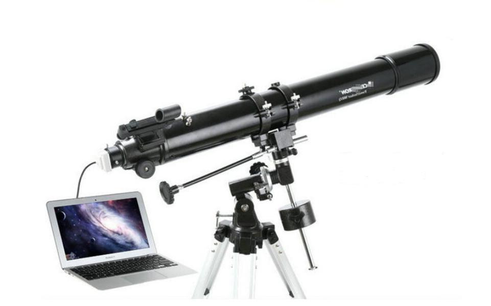 """Mounchain <font><b>Telescope</b></font> 1.25"""" Electronic <font><b>Eyepiece</b></font> <font><b>Telescope</b></font> Connecting"""