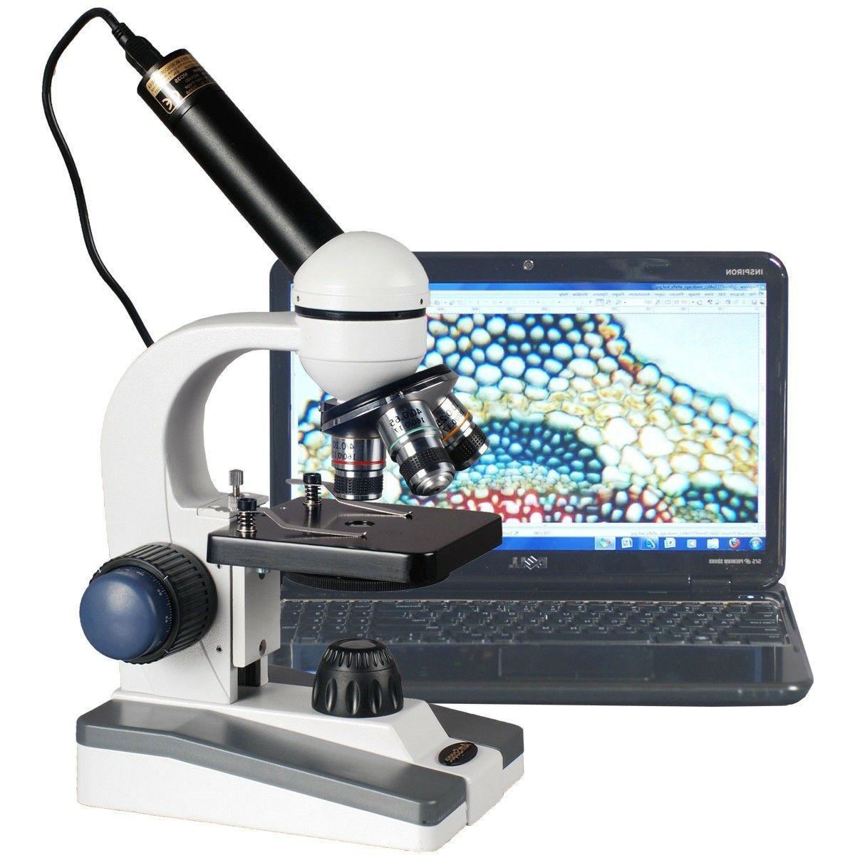 m158c e compound monocular microscope