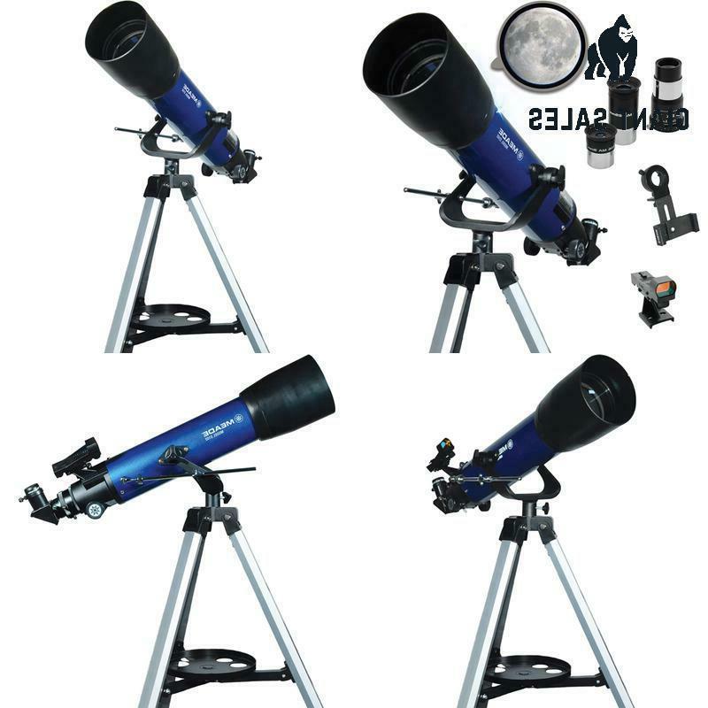 meade instruments s102mm aperture portable beginner refracti