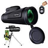 Monocular Telescope, Tatufy 12x50 HD Dual Focus Low Night Vi