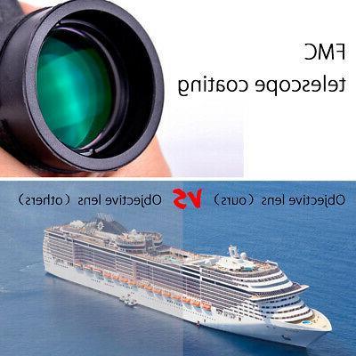 NEW 40X60 Zoom HD Lens Telescope+Tripod+Clip For
