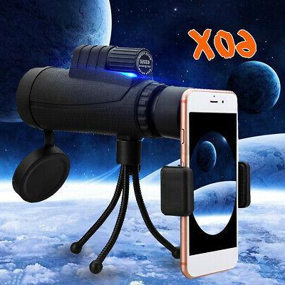 new 40x60 zoom optical hd phone lens