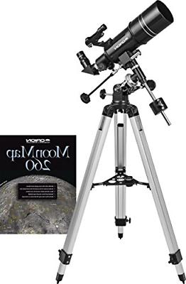 observer 80st 80mm equatorial refractor telescope