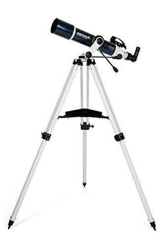 Celestron Omni XLT AZ Refractor Telescope, Altazimuth & Tripod