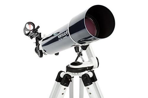 AZ Refractor Telescope, f/6.5 Focal Tripod