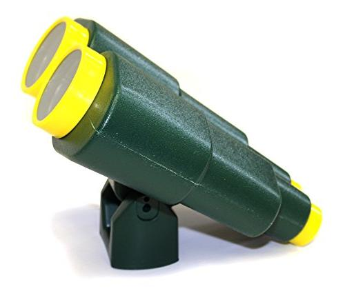 plastic toy binoculars green swing