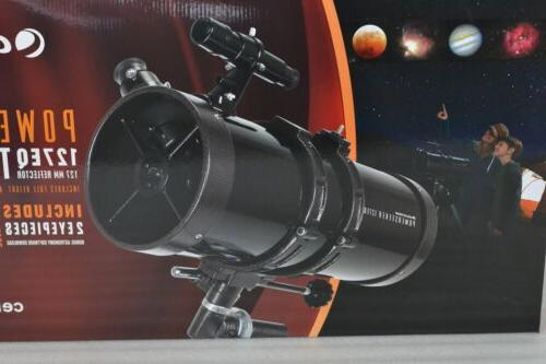Celestron with 3X Barlow