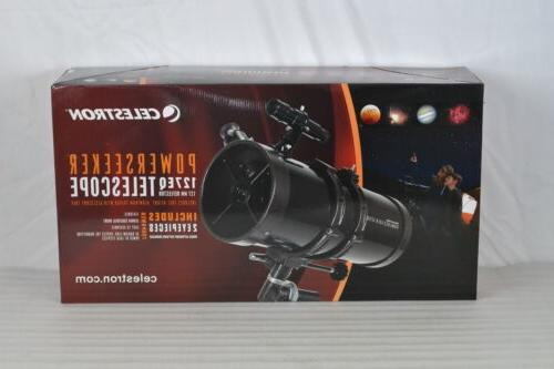 powerseeker 127eq telescope with 3x barlow lens