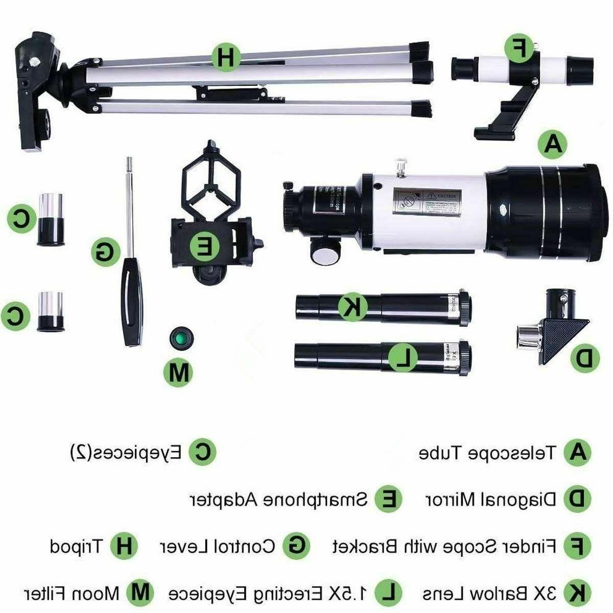 Professional Telescope 150x Outdoor Travel