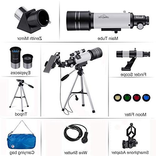 MAXLAPTER HD Suitable for Adults or Children with Tripod,