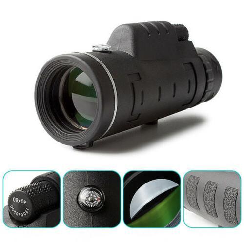 rubber travel monocular telescope w phone camera