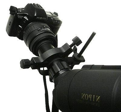 S - Universal adapter your camera scopes.