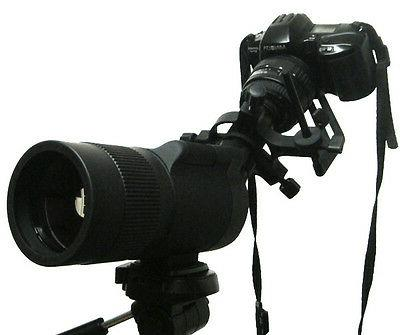 S Universal camera adapter Connect your camera to scopes.