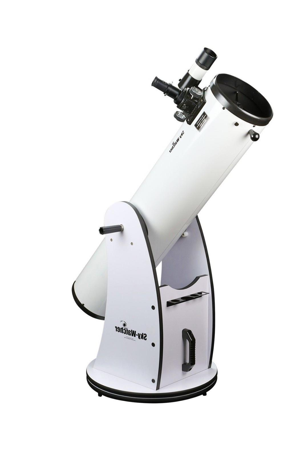 skywatcher s11610 traditional dobsonian 8 inch white