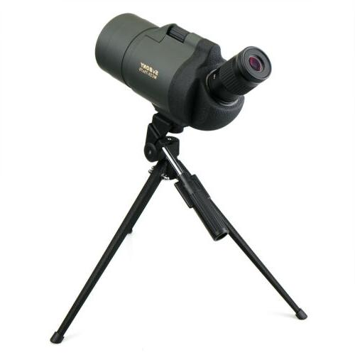 Spotting Scope SVBONY 25-75x70mm BaK4 FMC Telescope+Tripod US