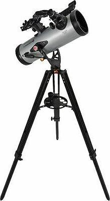 Celestron - StarSense 114mm Newtonian Reflector - Silver/B...