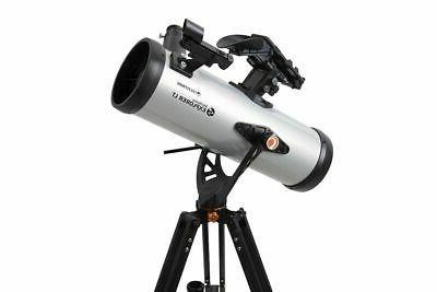 Celestron - StarSense Explorer 114mm Newtonian Reflector Tel