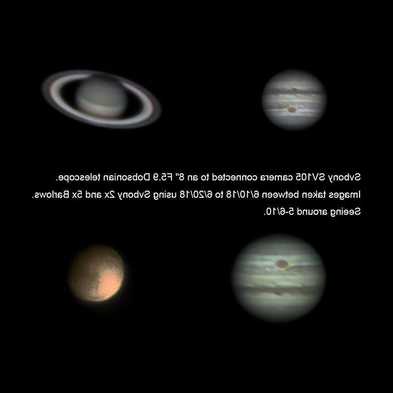 """SVBONY SV105 1.25"""" Telescopes Electronic Eyepieces 2MP Camera+ Tracking US"""
