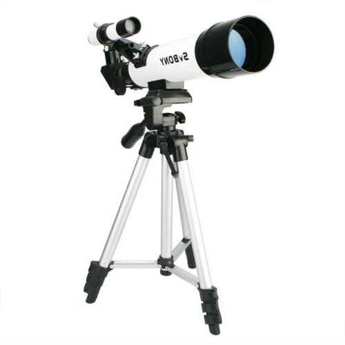 SV25 60x420mm Refractor Telescope Scope+Aluminum Tripod US