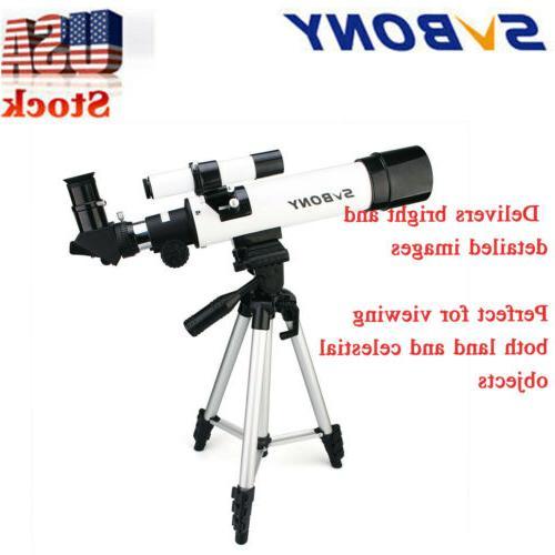sv25 60x420mm compact kids refractor telescope travel