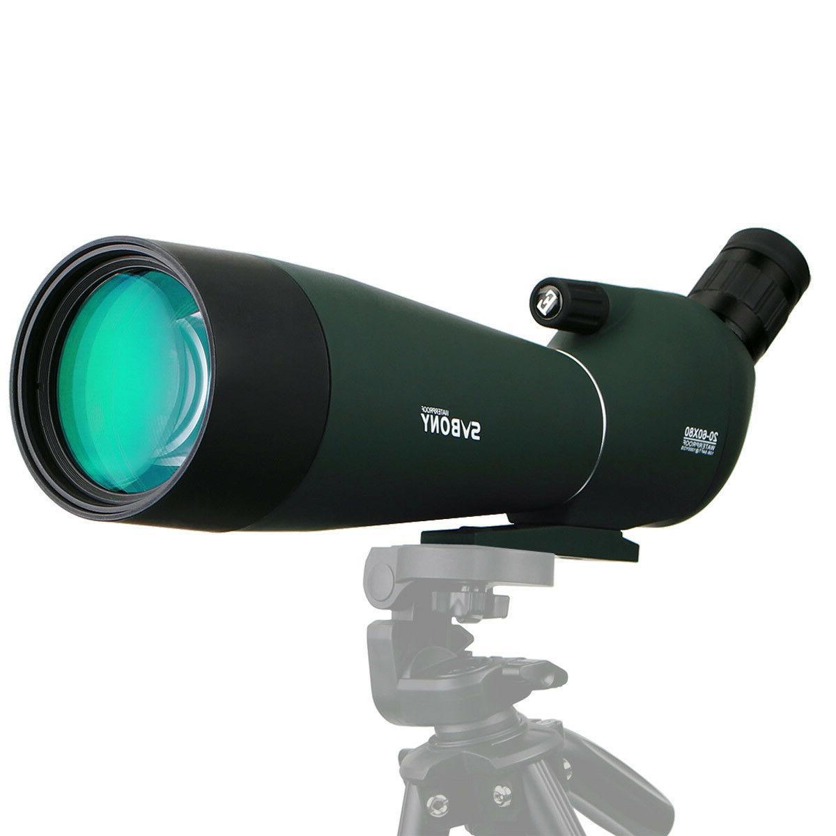 SVBONY SV28 20-60x80 Angled Spotting Bird watching US